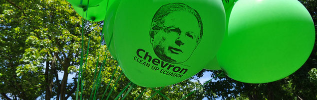 Chevron Faces Tens of Billions in Clean-up Costs; Potential Death Toll Put at 10,000 in Ecuador Rainforest