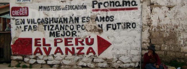 Caution, Left Turn Only: Peruvian Elections