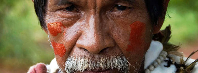 Indians from Guarani Tribe demand Shell leave their land