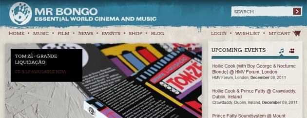 Mr Bongo Website Launched