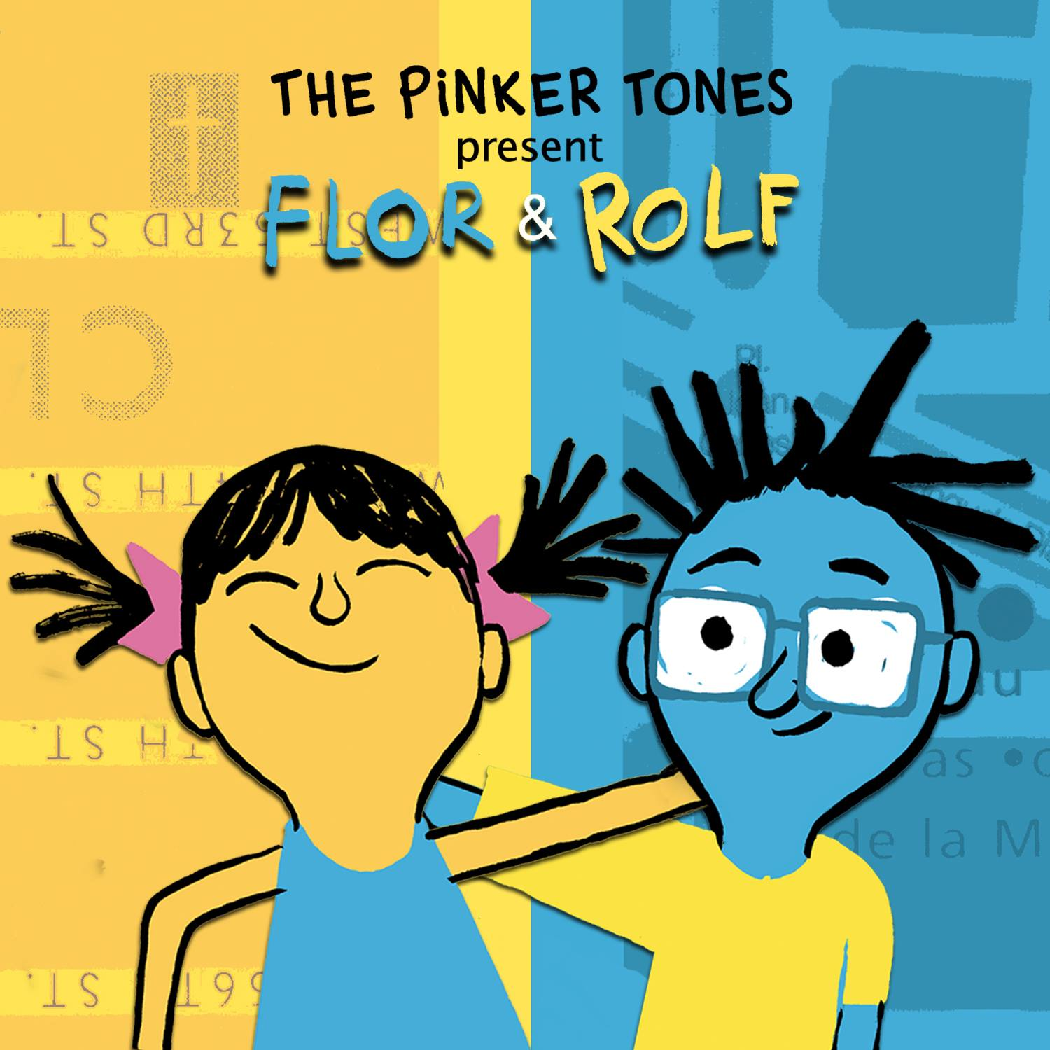 The Pinker Tones' latest record and storybook for children, was featured at a LAMC event.