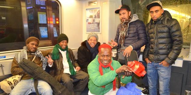 tribue on subway