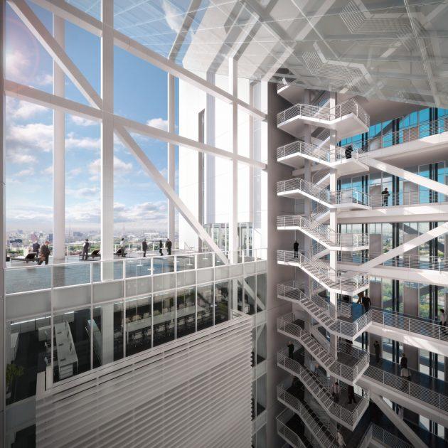 reforma-towers-richard-meier-courtyard