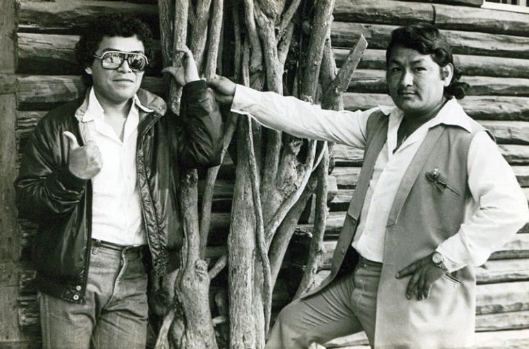 Jose Luis Carballo with Chacalón