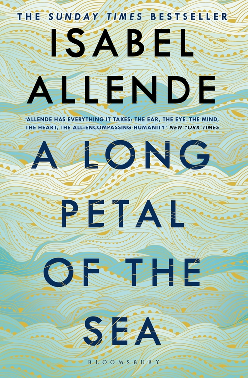 A Long Petal of the Sea published by Bloomsbury