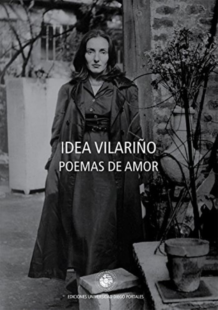 The front cover of Love Poems by Idea Vilariño